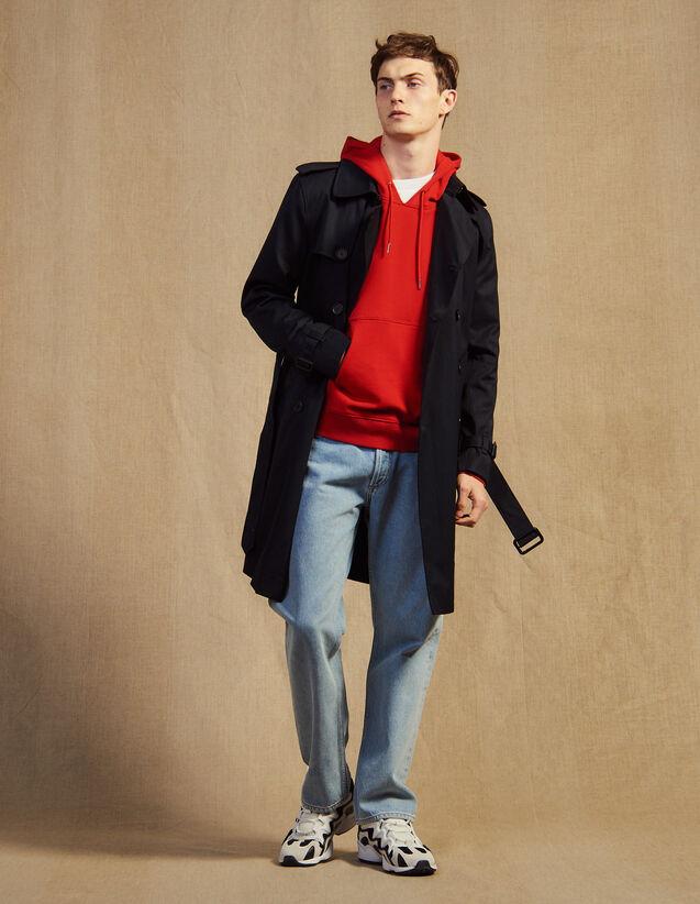 Trench Con Cintura : Trench & Cappotti colore Beige
