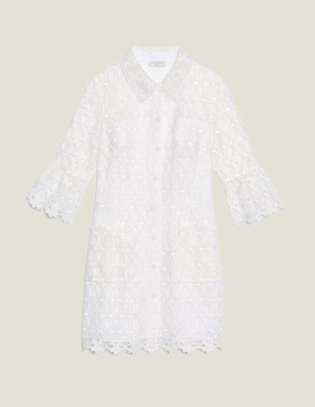 Robe Manteau En Guipure : LastChance-CH-FSelection-Pap&Access couleur Ecru