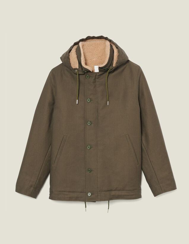 Parka Deck Jacket : Trench & Cappotti colore Cachi