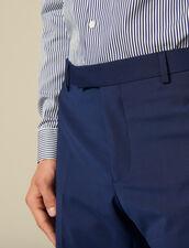 Pantaloni da completo classici Super 110 : Collezione Invernale colore Blu