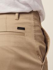 Pantaloni Chino Dritti : Sélection Last Chance colore Beige