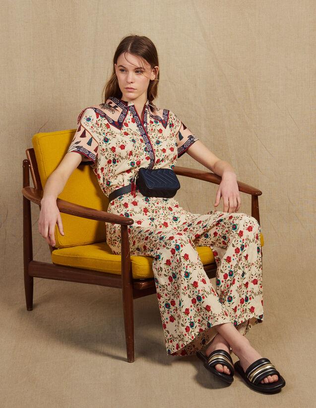 Combinaison Pantalon Imprimée : null couleur Multicolore