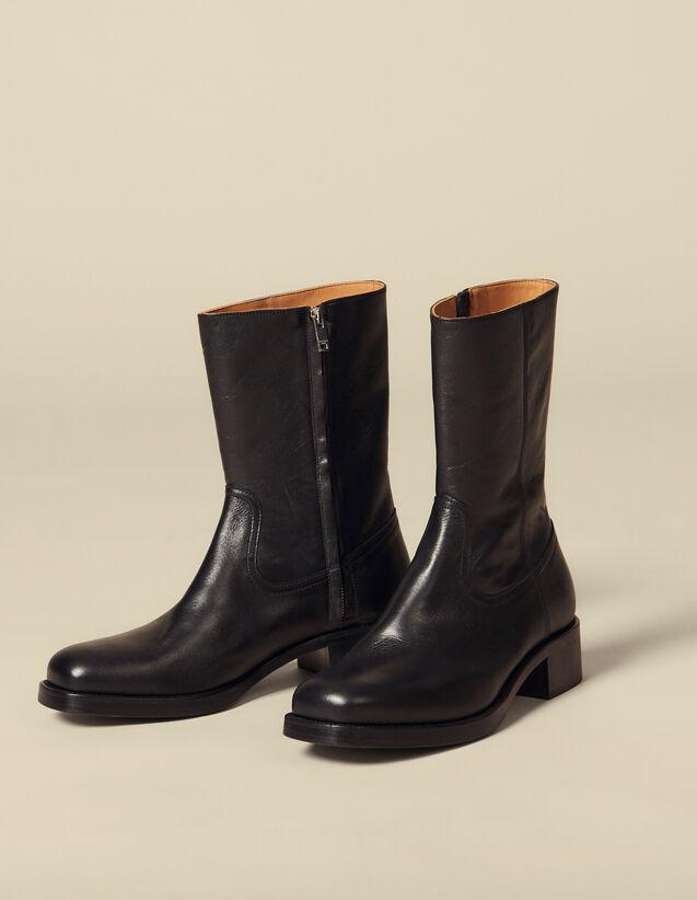 Stivali Camargue : Scarpe colore Nero
