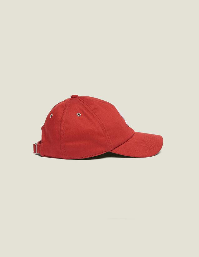 Berretto Con Applicazione S : Berretti colore Rosso