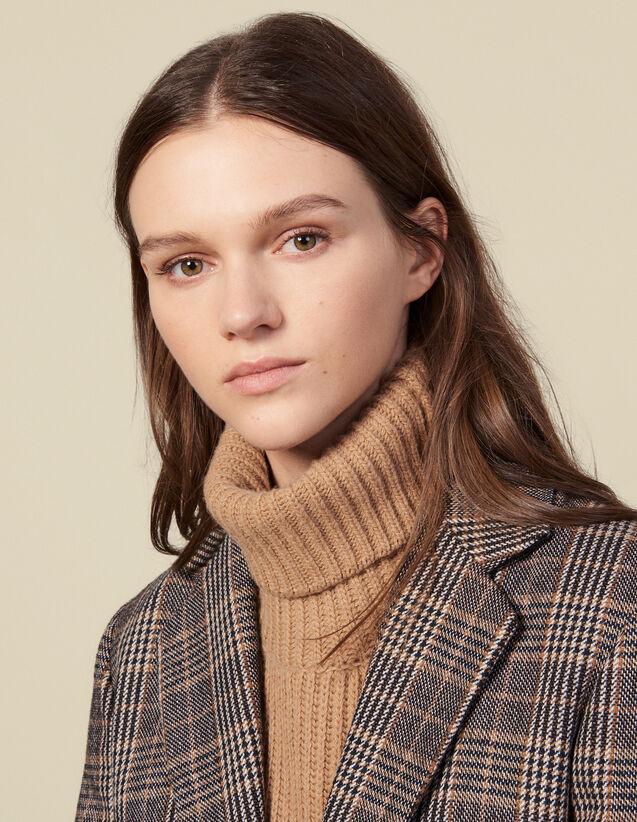 Collo A Sciarpa In Lana : L'intera collezione Invernale colore Cammello