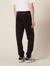 Pantaloni Da Jogging Stile Trackpant : Sélection Last Chance colore Nero