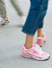 Sneaker Flame : LastChance-CH-F20 colore Rosa Fluorescente