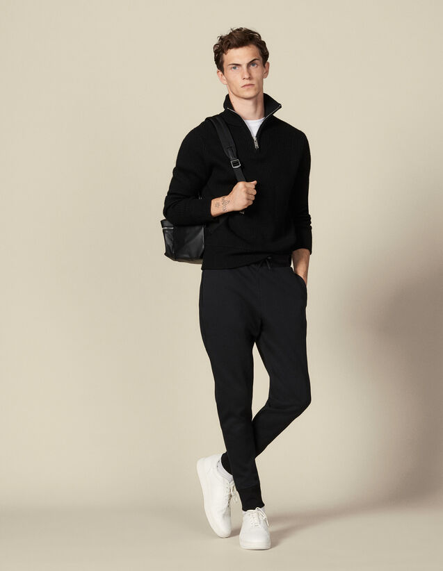 Jogging en matière technique : Pantalons & Shorts couleur Noir