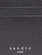 Porta Carte In Pelle Liscia : Porta carte & Portafogli colore Nero