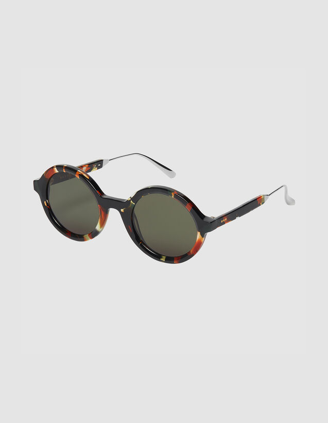 Occhiali Da Sole Rotondi : Occhiali da sole colore Caramello