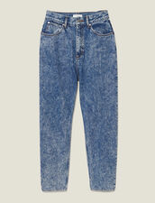 Jeans Snow Washed : Jeans colore Blue jeans