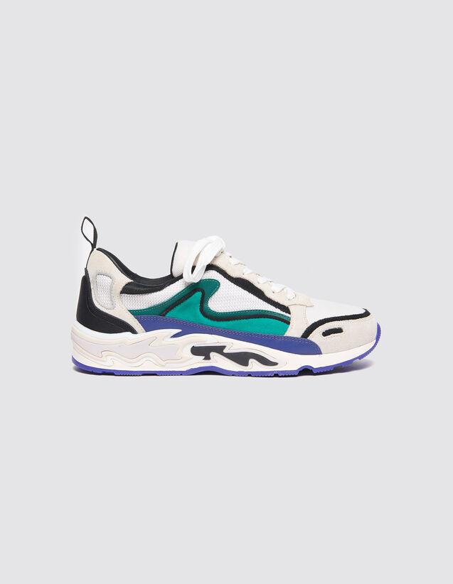 Flame Sneaker : Tutte le Scarpe colore Viola