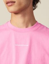 T-Shirt In Cotone : Collezione Inverno colore Rosa