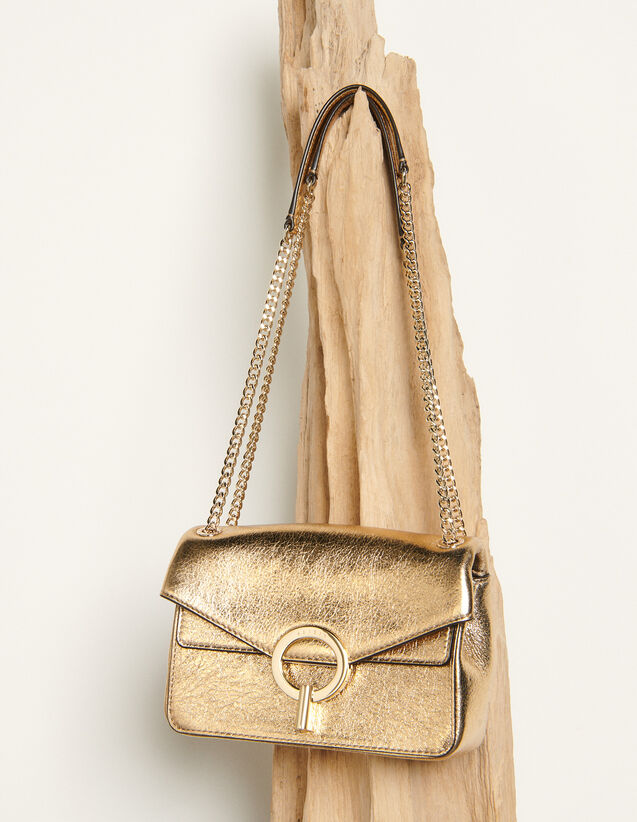 Sac Yza petit modèle full gold : FCollection-Hiver-Acc couleur Full Gold
