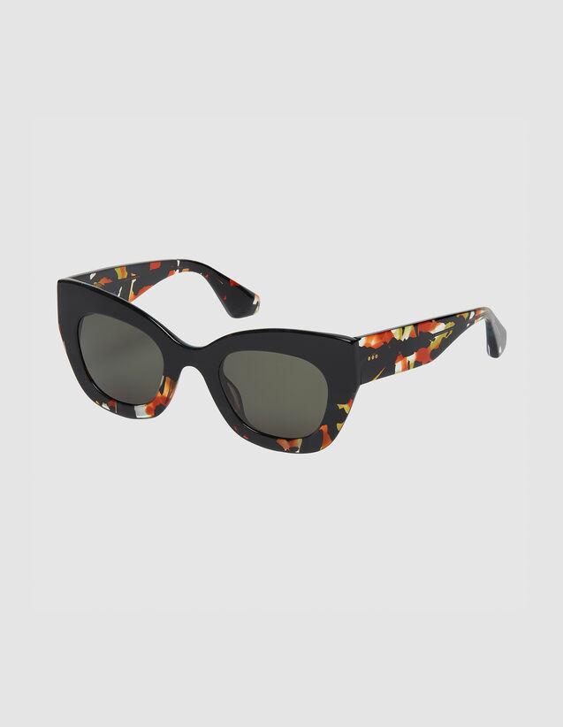 Occhiali Da Sole Oversize : Occhiali da sole colore Noir/Ecaille
