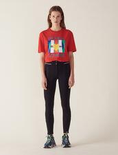 Pantaloni Stile Leggings : null colore Nero