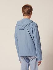 Giubbotto Tecnico Con Cappucio : LastChance-FR-H60 colore Grigio blu