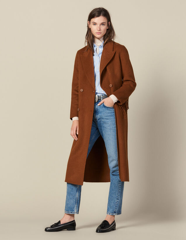 Cappotto Lungo Con Frange In Lana : FBlackFriday-FR-FSelection-30 colore Nocciola