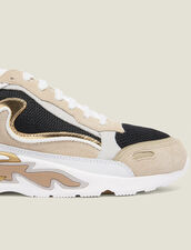 Sneaker Flame : Tutte le Scarpe colore Oro