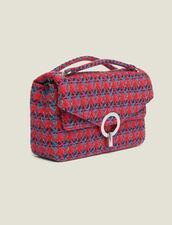 Borsa Yza in tweed : Tutte le Borse colore Rosso