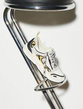 Sneaker Flame : Tutte le Scarpe colore python jaune