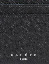 Porta carte in pelle : Porta carte & Portafogli colore Nero