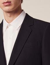 Veste De Costume En Coton : Sélection Last Chance couleur Encre