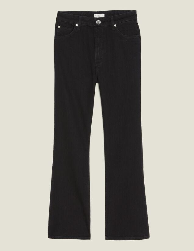 Pantaloni Rudolphe : Jeans colore Nero