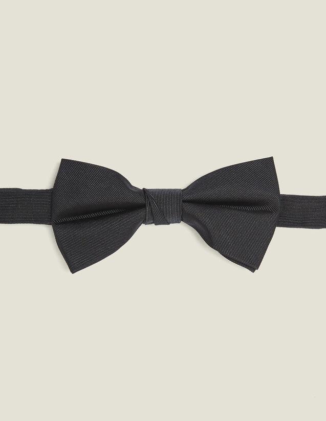 Papillon in twill di seta : Cravatte & Papillon colore Blu Marino