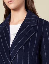 Cappotto Lungo Double Face : FBlackFriday-FR-FSelection-Blousons&Manteaux colore Navy