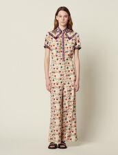 Tuta Pantalone Stampata : null colore Multicolore