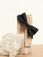 Papillon in twill di seta : Cravatte & Papillon colore Nero