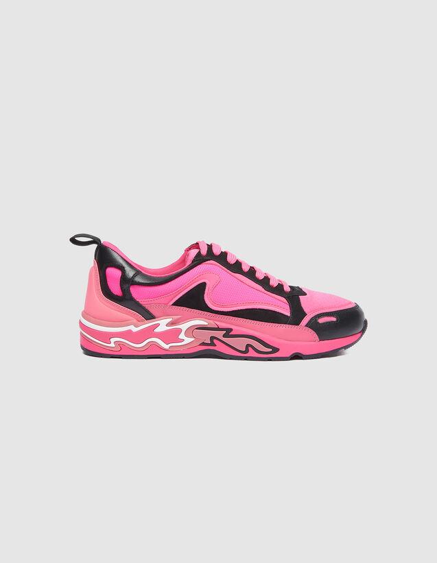 Sneaker Flame : Tutte le Scarpe colore Rosa Fluorescente