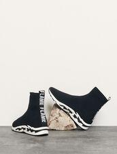 Flame sneaker : Tutte le Scarpe colore Nero