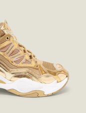 Sneaker Astro : FBlackFriday-FR-Selection-Chaussures colore Full Gold