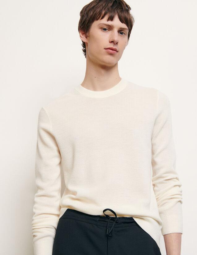 Pullover in punto brioche : Maglioni & Cardigan colore Antracite