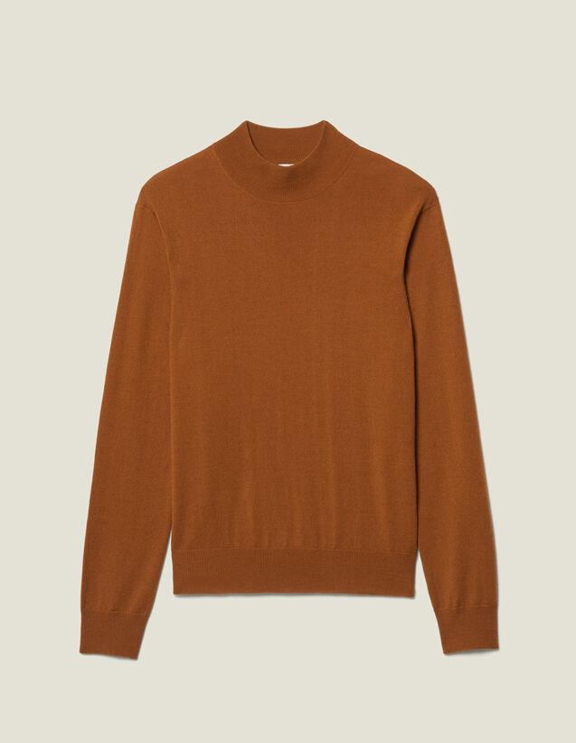 Pullover con collo a lupetto : Maglioni & Cardigan colore Vert foncé