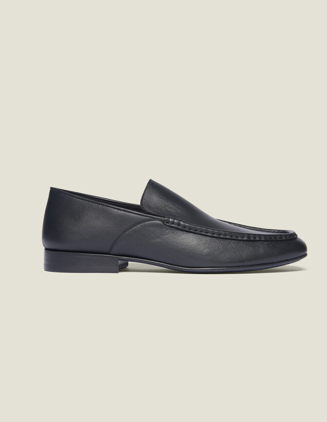 Mocassini In Pelle : Scarpe colore Nero