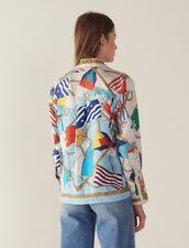 Chemise Imprimée Esprit Pyjama : null couleur Ecru