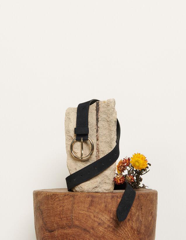 Cintura in pelle : L'intera collezione Invernale colore Blu Marino Scuro