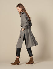 Trench con spacchi laterali : JP-UK-FPAP&Accessoires colore Marron