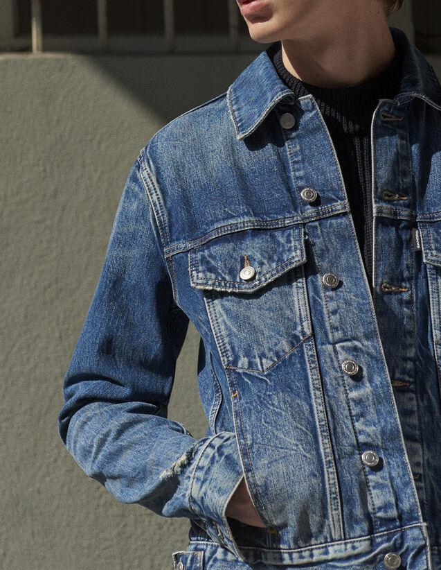 Veste en jean esprit vintage : Toute la Sélection couleur Blue Vintage - Denim