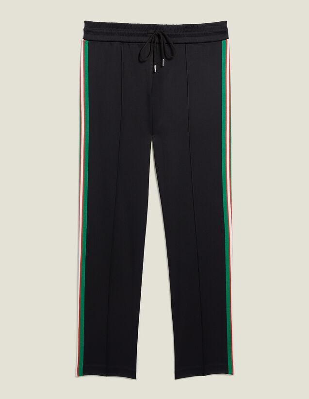 Pantaloni Jeanne : null colore Nero