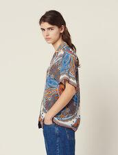 Camicia Pigiama Stampata : null colore Multicolore