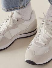 Baskets Running : Collection Été couleur blanc