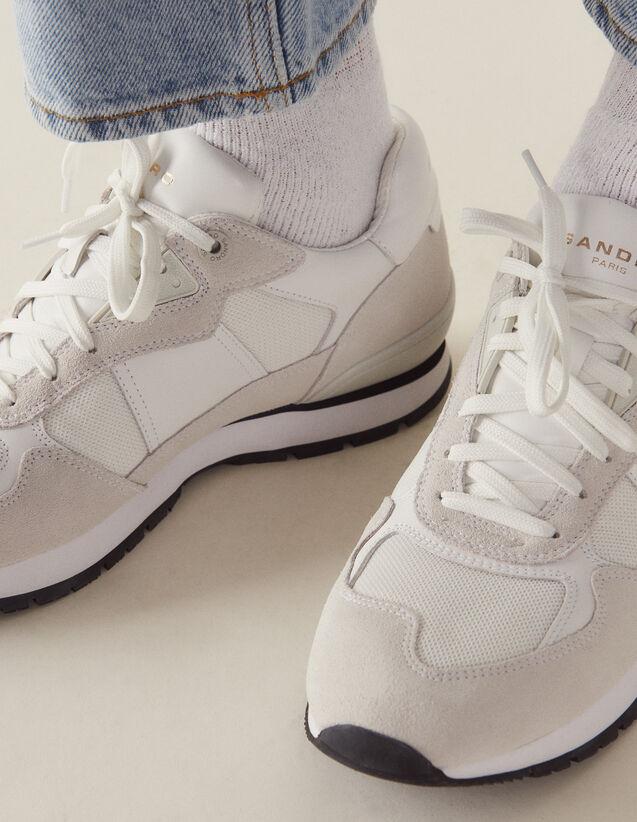 Sneaker Da Running : Collezione Estiva colore Bianco