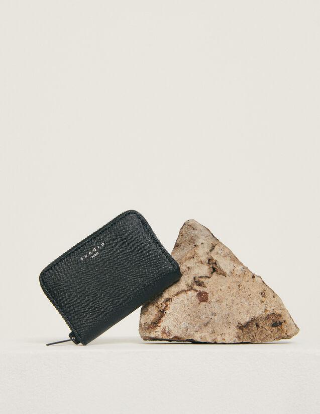 Porta carte con zip : Collezione Invernale colore Nero
