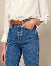 Cintura In Pelle : Cinture colore Blu Marino Scuro