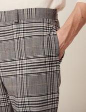 Pantaloni Da Completo Classici : Sélection Last Chance colore Grigio