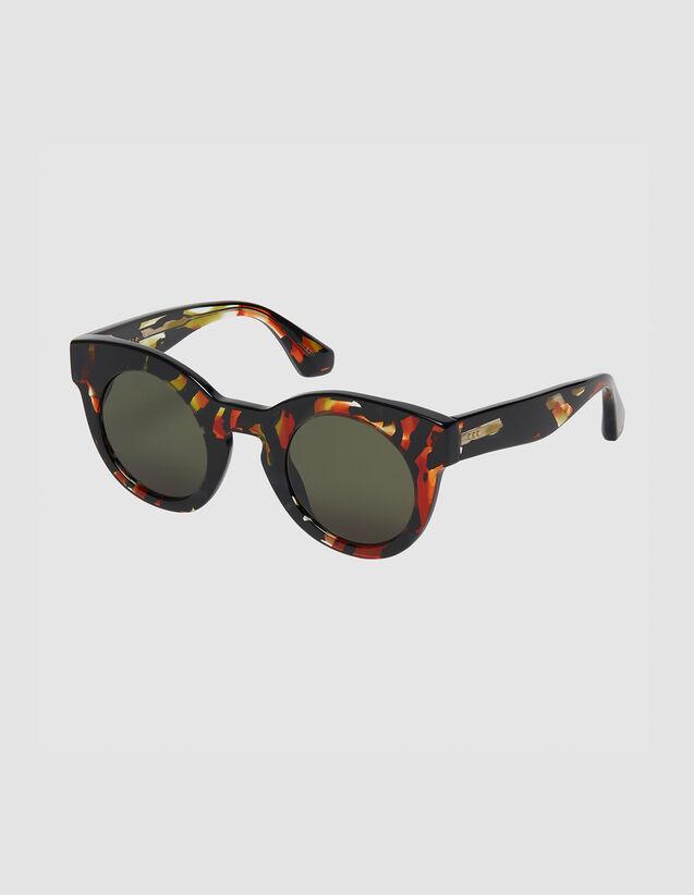 Occhiali da sole rotondi oversize : FBlackFriday-FR-FSelection-ACCESS colore Rosso